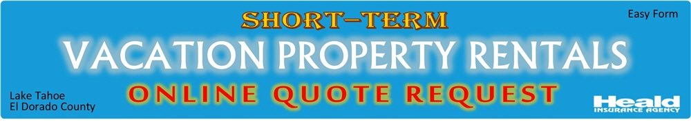 Short-Term Vacation Property Rentals Online Quote Request